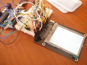 LCDとごちゃごちゃ配線