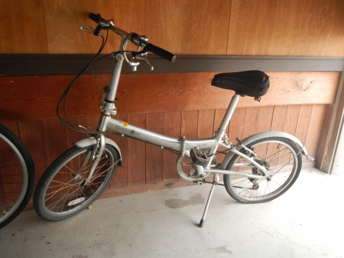 修理前の自転車