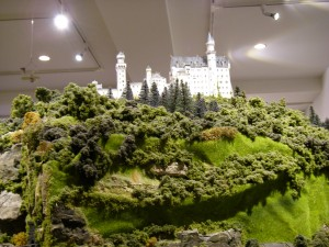 有馬玩具博物館の巨大レイアウト