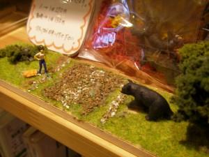 有馬玩具博物館に飾ってあった製作例