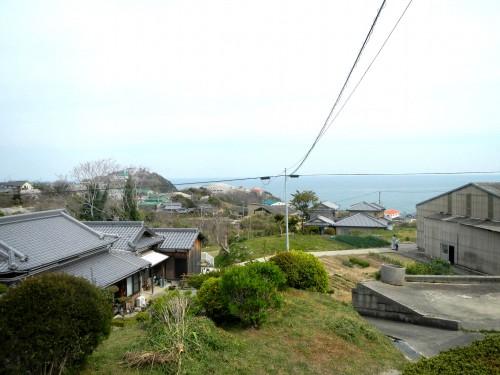 中津浦からくねくね坂を通って中央に戻るところ。 眺めがすごくいいです。