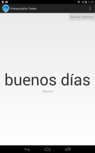In Spanish... (screenshot on nexus7(2013))