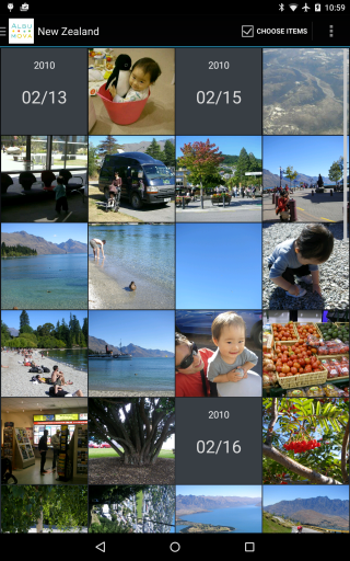 4x grid in default(portrait mode), then ...